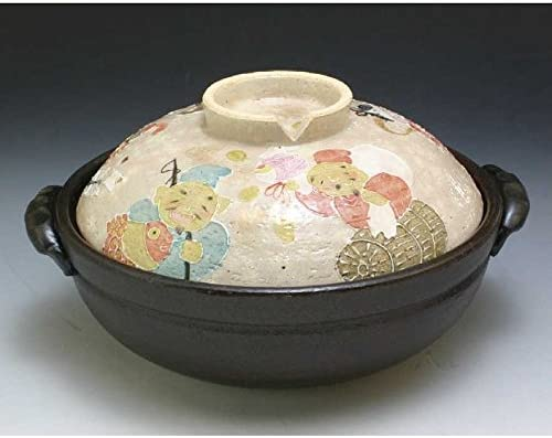 Super sale Kiyomizu-kyo yaki Ware. Japanese Limited Special Price Donabe for IH Pot Seven earthen