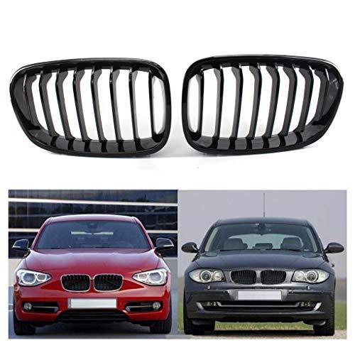 1 paar radiator grill zwarte grille vervanging voor BMW F20 2011-2014 51137239022 51137239021