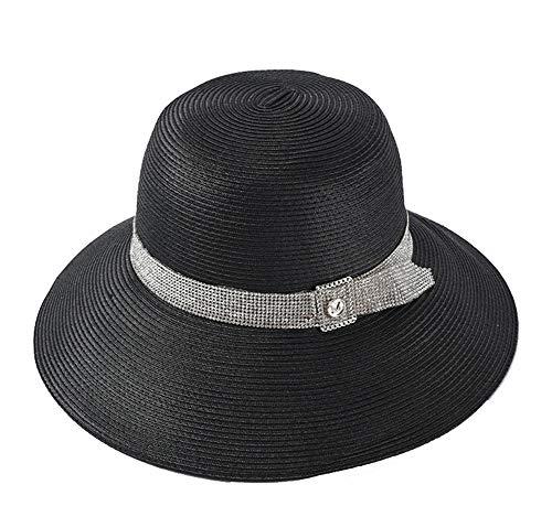 Sombreros de Sol para Mujer, para Mujer de Verano Lovely Sun Hat Floppy, Packable, protección UV UPF 30+