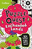 The Enchanted Lands: Solve More Than 100 Puzzles in This Adventure Story for Kids Aged 7+ (Puzzle Quest)