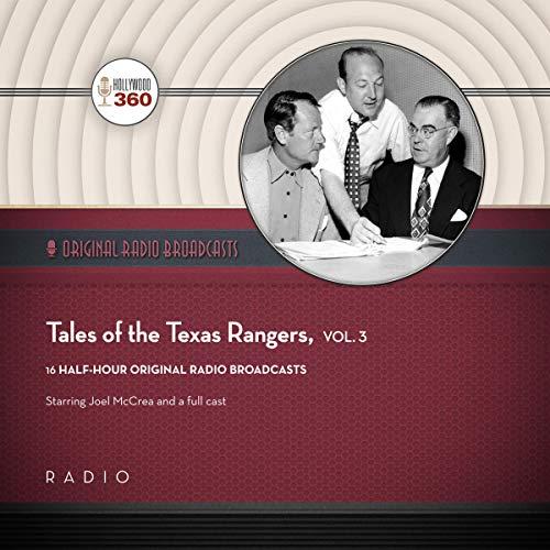 Tales of the Texas Rangers, Vol. 3 audiobook cover art
