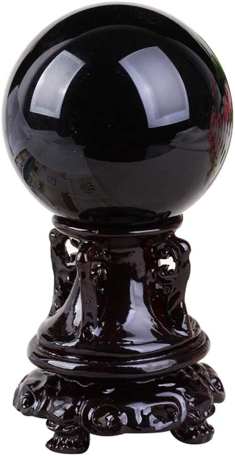 Crystal Ball low-pricing Max 81% OFF Cobsidian Feng Base Shui with Fortune-