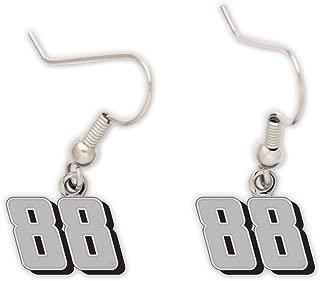 WinCraft NASCAR Dale Earnhardt Jr 78583015 Earrings Jewelry Card