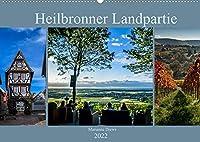 Heilbronner Landpartie (Wandkalender 2022 DIN A2 quer): 12 grossartige Bilder aus dem Heilbronner Land, die zu einer Landpartie einladen (Monatskalender, 14 Seiten )