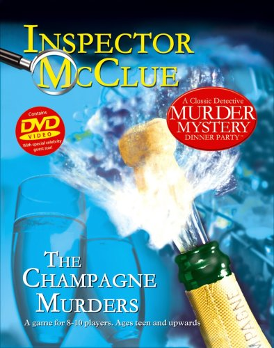 Inspector McClue - The Champagne Murders Dinner Party Game
