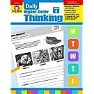 Evan-Moor Daily Higher-Order Thinking Grade 4 Teacher s Edition Supplemental Teaching Resource Book, Brainteasers