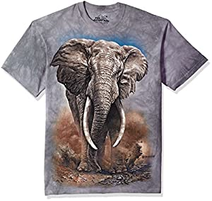 The Mountain Adult Unisex T-Shirt - African Elephant