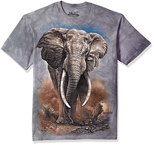 The Mountain Herren African Elephant T-Shirt, grau, X-Groß