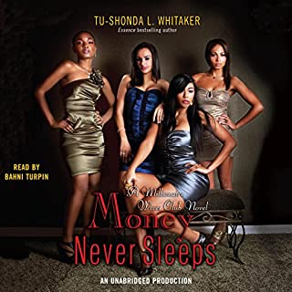 Money Never Sleeps audiobook cover art
