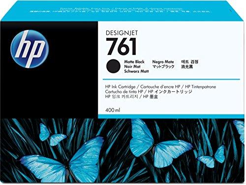 HP CM991A Cartucho 761, 400 ml, Negro