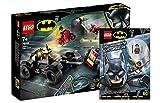 Lego DC Comics Super Heroes 76159 Jokers™ - Juego de persecución de Trike + misiones geniales para verdaderos superhéroes con minifigura Robin (cubierta blanda)
