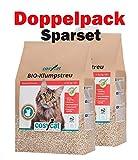 COSYCAT Sparpack - Bio Katzenstreu klumpend - 40 l Natürlich aus Holz!