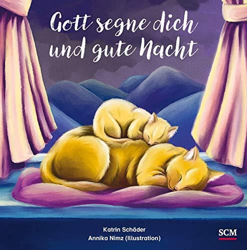 Gott segne dich und gute Nacht: Das Geschenkbuch zur Geburt oder Taufe (Geschenke zu besonderen Anlässen)