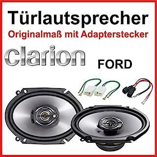 'Clarion 6x 8específicamente para Ford Fiesta Puertas Delanteras Puertas/traseras 2001–2008