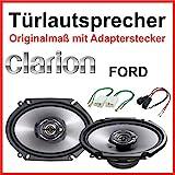 Clarion Haut-parleurs 15 x 20 cm [6x 8'] Spécialement conçu pour portières avants de Ford Maverick 2000-2007