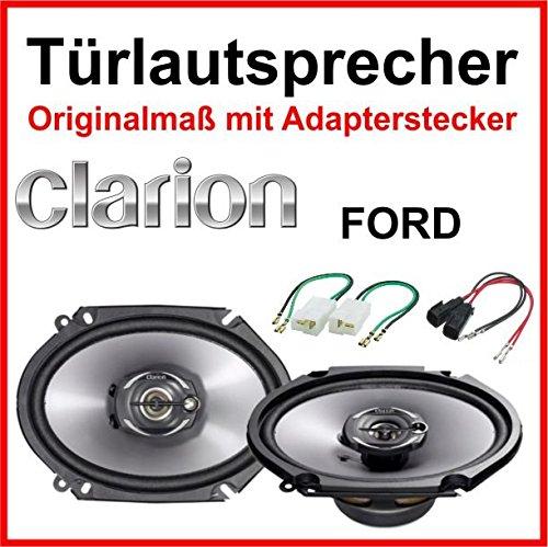 Clarion 6 x 8 pulgadas, especialmente para Ford Mondeo puertas delanteras/traseras 1993 – 2007.