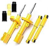 4 amortiguadores deportivos de presión de gas delantero y trasero + protección contra el polvo – Astra G, Zafira A