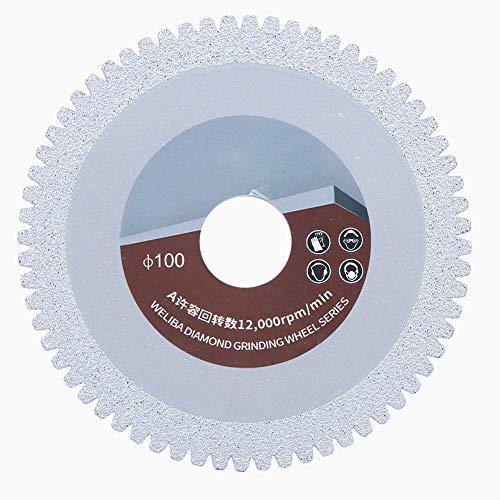 Diamante con lama di taglio a dente di sega brasato Fetta Prodotti per lucidatura Accessori Piastrella in quarzo di cemento di marmo 100mm 60mm