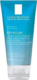 Gel de Limpeza Profunda Effaclar Concentrado, 60 G, La Roche-Posay, Transparente