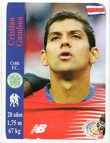 World Cup Russia 2018 Sticker Peru Cristian Gamboa Celtic Football Club 1887