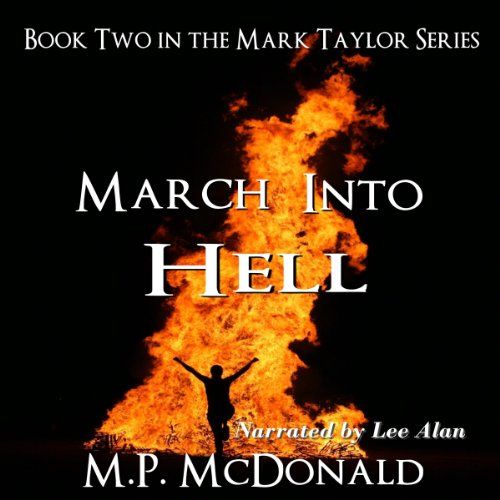 March Into Hell audiobook cover art