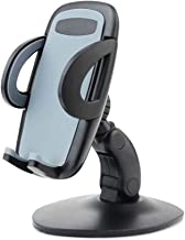 Laiys Cell Phone Mounts for Car, Silicone Car Phone Dashboard Car Cradles Mounts, Vehicle GPS Mount Universal Fit All Smartphones, Anti-Slip Desk Phone Holder Stand