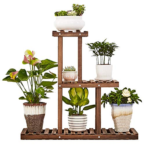 GEEBOBO 3 Tier Plant Stand,Large Multi Tiered Plant Shelf for Multiple Plants,Indoor Flower Pots Stand,Outdoor Plant Shelvs Rack Holder.