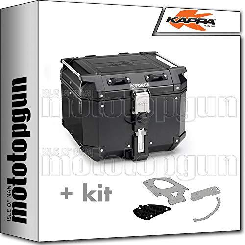 kappa maleta kfr420b k'force 42 lt + portaequipaje monokey compatible con yamaha xenter 125 150 2020 20