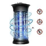 Lixada Lampe Anti-Moustique Electric Fly Moustique Killer Maison Anti-Moustique Bug Zapper Lampe avec Crochet Suspendu 1000V Grille Ampoule