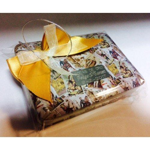 Baraja de cartas con caja PERSONALIZADA para regalo detalle