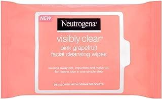 Neutrogena Pink Grapefruit Medicated Facial Wipes