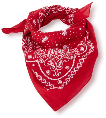 Levi's Paisley Bandana Chal, Rojo (Noir Regular Red), Talla única (Talla del fabricante: UN) para Hombre