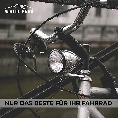 WHITE PEAK® 2er Set Wasserdichter Sattelbezug - Bike Seat Cover - Universalgröße - Der perfekte Sattelschutz für Ihr Fahrrad - 6