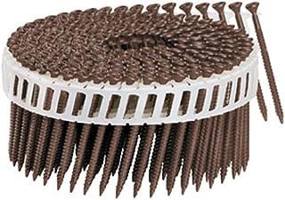 Fasco SCFP1013FVSS316 Scrail Fastener  Fine Thread 20-22-Degree Plastic Strip 316 Stainless Steel Versa Drive 3-Inch x .113-Inch 1000 Per Box
