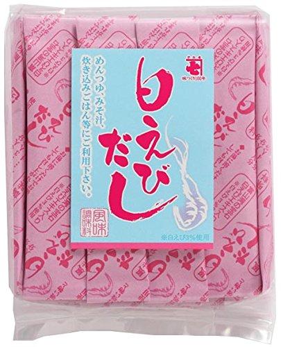 かね七 (KANESHICHI) 白えびだし 4g×25本 3セット