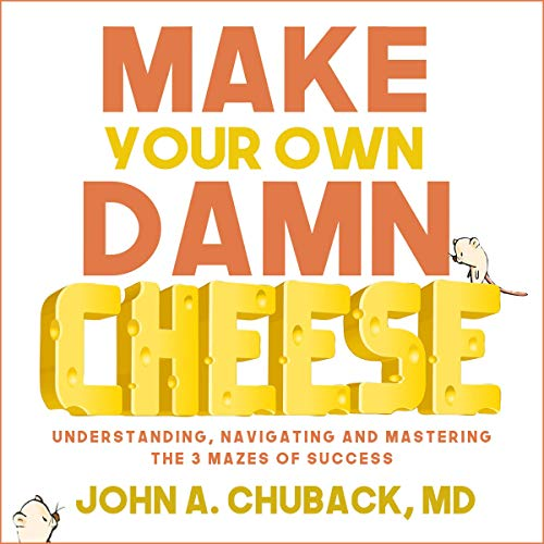 Make Your Own Damn Cheese audiobook cover art