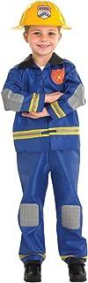 Rubie's Official Fireman Fancy Dress, Children Costume - Large, 889518L, Multi Color