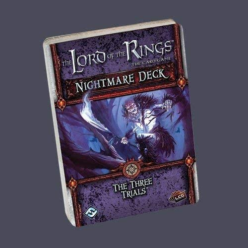 Lord of The Rings LCG Three Trials Nightmare Deck - English