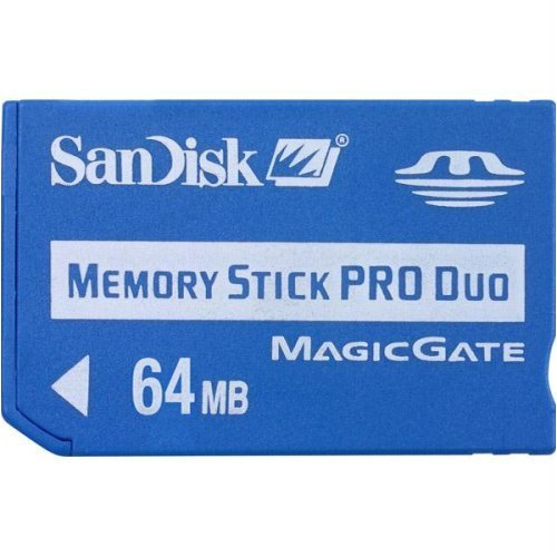 SanDisk 64Mb Memory Stick Pro Duo (SDMSPDS-64-A99)
