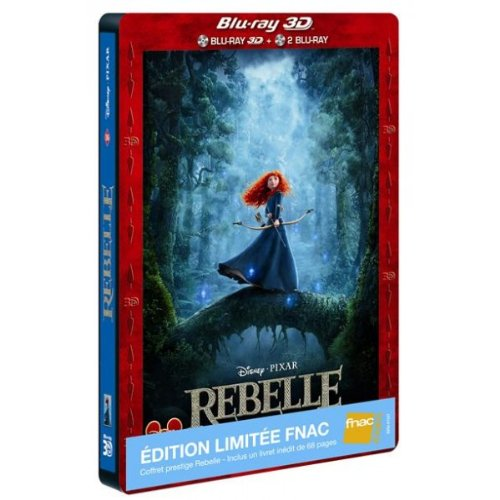 Merida (Rebelle / Brave) - Limited FNAC Steelbook ™ Blu-ray 3D + 2D (3Disc BR Edition)