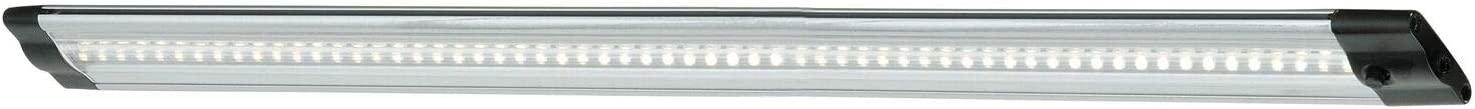 Instalux 20-in LED Brushed Nickel Under Linkable Cabinet Max All items free shipping 90% OFF Plug-in
