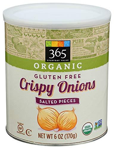 365 by Whole Foods Market, Onions Crispy Organic, 6 Ounce