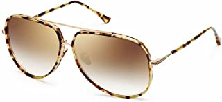 DITA Condor Two 21010-A-TKT-GLD Sunglasses, Multi Colored  Frame 62mm w/ Brown Gradient Lens