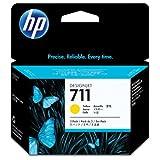 3 Cartuchos de Tinta Originales para HP DesignJet T 520 HP 711 CZ136A – 3 Cartuchos de Tinta Amarilla de 29 ml