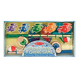 Catch & Count Wooden Fishing Game