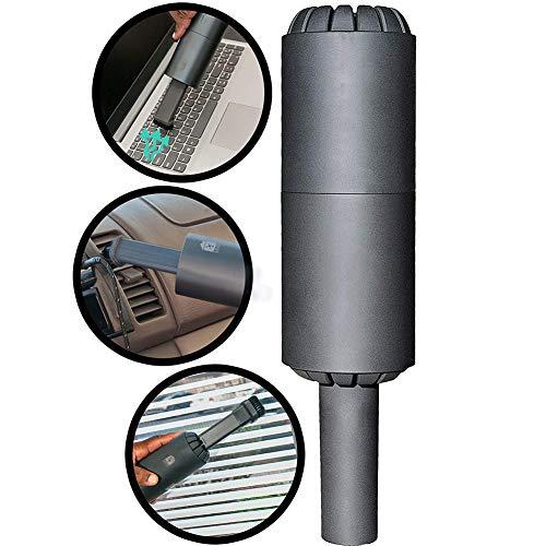 Best Bargain JIXIN Cordless Mini Vacuum Cleaner - USB Rechargable Lithium Battery Handheld Vacuum Su...