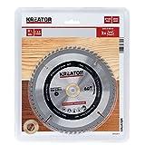 Kreator KRT020415 KRT020415-Disco de Sierra Madera 185mm60d, 185 x 30 x 2,2 mm