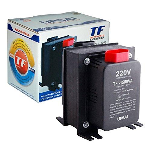 Auto Transformador de Voltagem 1500va Automático Bivolt 110v / 220v ou 220v / 110v Upsai Modelo 51000150