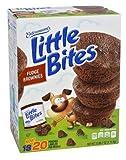 Entenmann's Little Bites Muffins 2 Boxes of 20 Pouches/80 Muffins Bonus 1 Individual Entenmann's Apple Pie