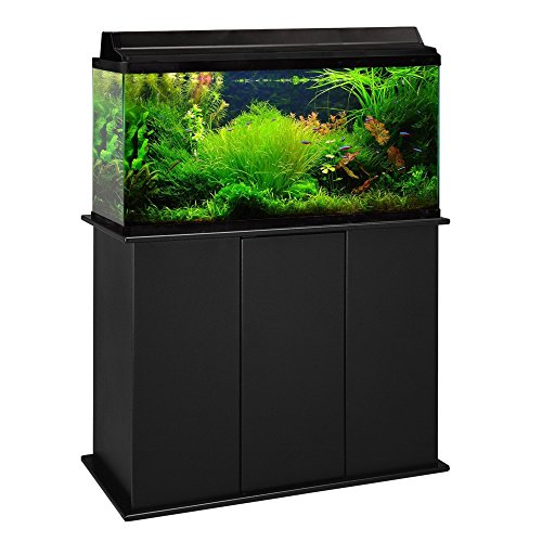 Aquatic Fundamentals 16501, 50 Gallon Aquarium Stand, Black